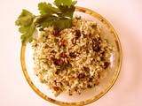 Brown Rice Cranberry Salad