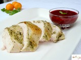 Citrus Mint Turkey with Lightly Spiced Cranberry Sauce