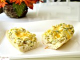 Green Garlic and Chilies Scrambled Eggs Baguette, a Parsi Favorite Revisited
