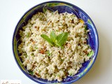 Lemon and Mint Spicy Quinoa Salad