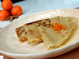 Orange Spiced Parsi Chapat: An Absolutely Adorable Crepe