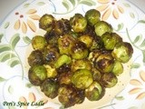Oven-Roasted Spiced Brussels Sprout