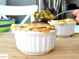 'Palak Paneer' Pot Pie – Spinach and Cottage Cheese Pie