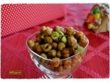 Spicy Roasted Chickpeas and Cucumber Chaat – An Elegant Appetizer