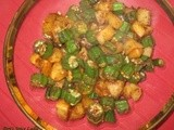 The Spotlight is on Okra…With This Okra-Potato Stir Fry