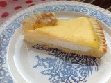 Crostata al limone con ricotta e crema pasticcera - Lemon pie with custard and cheese