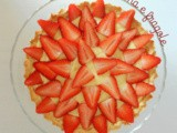 Crostata di fragole e crema pasticcera - Strawberries and custard pie