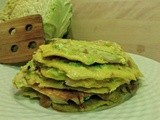 Frittelle di verza - Cabbage pancakes