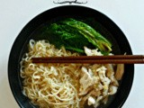 Zuppa di pollo cinese - Chinese chicken noodles soup