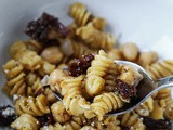 Rotini with Chickpeas and Sun-Dried Tomatoes