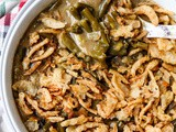 Slow Cooker Green Bean Casserole (Vegan)