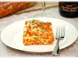 Beef and Spinach Lasagna and Giveaway Winner