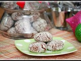 Chocolate Pecan Crinkles