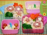 Curly Haired Girl Bento and Sandwich Bentos