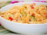 Farfalle with Mild Gambas