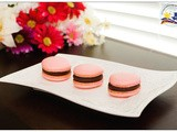 French Macarons with Chocolate Ganache Filling