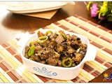 Ground Pork and Eggplant in Oyster Sauce