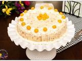 Mango Cake with Mango Cream Frosting