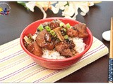 Pork and Mushrooms in Teriyaki Sauce