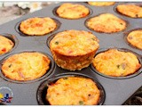 Salmon and Vegetables Frittata Cups