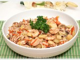 Seafood and Vegetable Medley in Oyster Sauce