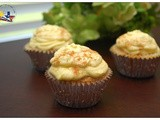 Tres Leches Cupcakes with Mango Frosting