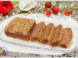 Whole Wheat Strawberry Bread with Walnut Crumble