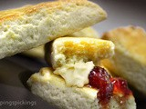 Lemon Scones & Clotted Cream Substitute