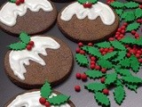 Merry Christmas & Christmas Pudding Cookies