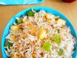 Apple Fried Rice Recipe - How to make Apple Fried Rice