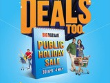 Big Bazaar's The Public Holiday Sale - 30 April 2016 to 4 May 2016