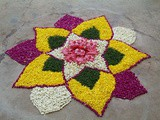 Easy and Simple Rangoli Designs for home, housewarming and competitions