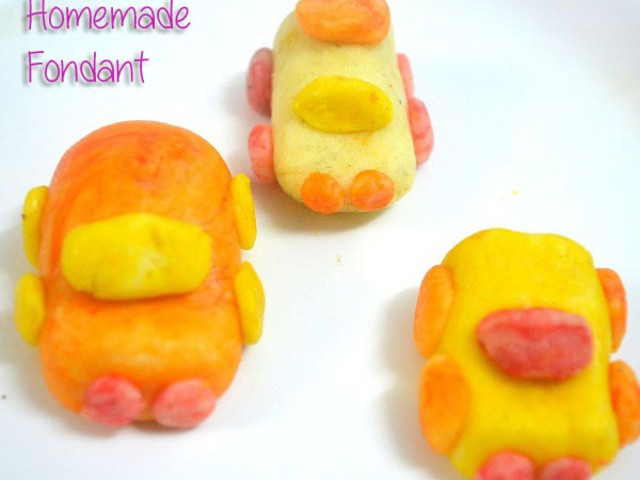Recipes of Fondant and Marshmallow