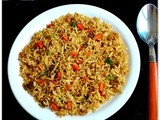 Veg fried rice recipe - How to make vegetable fried rice