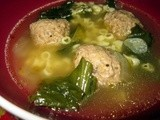 This Week's Sneak Peek: Italian Wedding Soup, Vegetarian Style