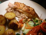 Smoked Parika Roast Chicken with Saffron Potatoes and why i hate Estate Agents