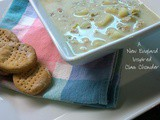 A New England (inspired) Clam Chowder