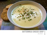 Lighter Options ~ Buttermilk Cheese Soup