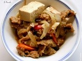 One from Column  a  - Braised Tofu with Pork