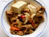 One from Column  a  – Braised Tofu with Pork