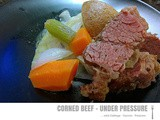 Under Pressure ~ Corned Beef & Cabbage