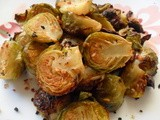 Maple-Roasted Brussels Sprouts with Toasted Hazelnuts