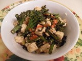 Tofu Broccolini and Cashew Stir-Fry