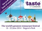 Taste of London Food Festival June 18th – 22nd 2014
