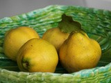 Two delicious ways with autumn quince