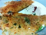 Crispy Wheat Dosa