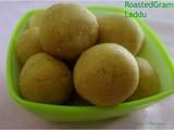 Porikadalai urundai / Roasted gram Laddu - Another Version