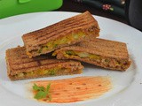Aloo Masala Sandwich / Potato Sandwich