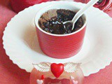 Baked Chocolate Pudding / Brownie Pudding