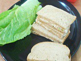 Chicken & Mayonnaise Sanwich / Chicken Mayo Sandwich
